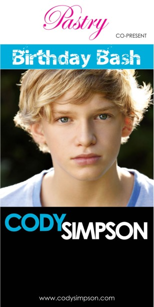 CODY SIMPSON ATLANTIC RECORDS