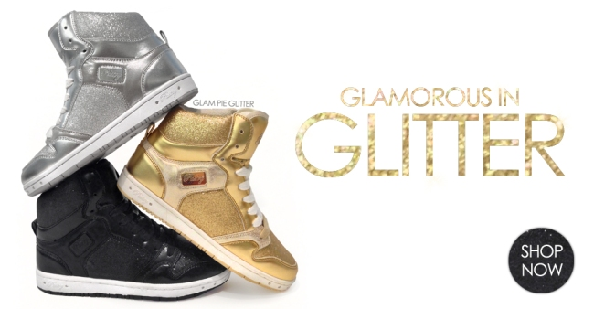 Glam Pie Glitter shoes by Pastry
