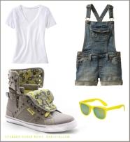 Style Guide Studded Sugar Rush Grey Yellow