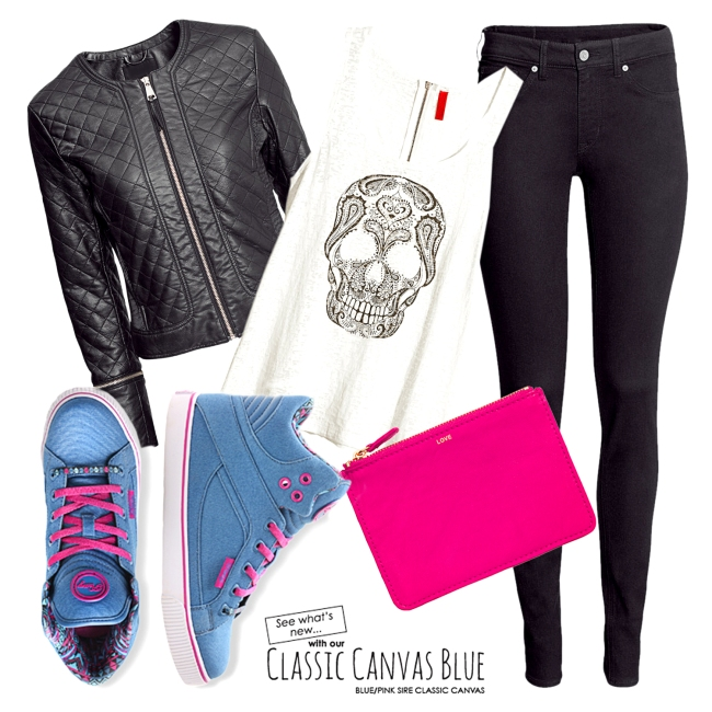 CANVAS BLUE OOTD