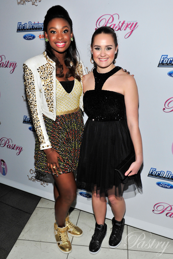 Pastry Ambassadors, Coco Jones and Allyson Ahlstrom on the Red Carpet at Coco's Sweet 16