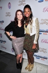 Pastry Ambassaors, Katie Armiger and Coco Jones, on the Red Carpet at Coco's Sweet 16