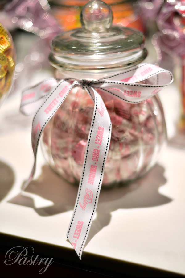 Pastry's Sweet, Chic, and Unique Candy Bar!